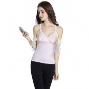 Livingly Light Baby Breastfeeding All-In-One Nursing & Hands Free Pumping Tank Top, PINK Breastpump Wear - M