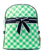 Blue Heron Plaid Theme Quilted 33cm Backpack