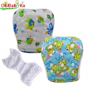 OHBABYKA Baby Swim Nappy Adjustable Unisex Reusable babies Swimming Pants One size