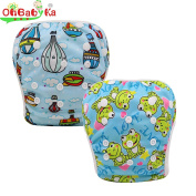 OHBABYKA Baby Swim Nappy Adjustable Unisex Reusable babies Swimming Pants