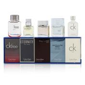 Miniature Coffret : CK One + Eternity + Euphoria + CK Free Sport + Encounter Fresh, 5x10ml/0.33oz