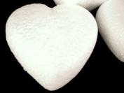 Craft Foam Heart Shape Ball Sphere Cutting Handmade for Wedding Handcraft 10 Pieces 13cm