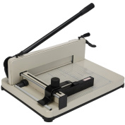 Heavy Duty 43cm Guillotine Paper Cutter A3/A4 Trimmer Sheet Metal Base Commercial
