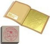 Edible Gold Leaf Sheets 20 Leaves 24 Karat Size