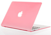 Kuzy - AIR 33cm PINK Rubberized Hard Case for MacBook Air 34cm (A1466 & A1369) (NEWEST VERSION) Shell Cover - Pink