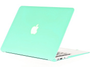 Kuzy - AIR 33cm MINT GREEN Rubberized Hard Case for MacBook Air 34cm (A1466 & A1369) (NEWEST VERSION) Shell Cover - Mint Green