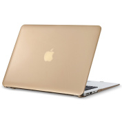 Kuzy - AIR 33cm GOLD Metallic Hard Case for MacBook Air 34cm (A1466 & A1369) (NEWEST VERSION) Matte Shell Cover - GOLD