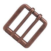 2 Prong Roller Buckle Antique Copper Plated 2.5cm - 1.3cm 1647-10
