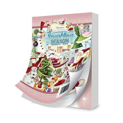 Hunkydory Crafts The Little Book of Sparkling Season 144 4x6 pages!