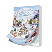Hunkydory Little Book of Winter Wonderland 144 4x6 pages!