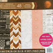 Craft Smith 30cm Paper Pad COPPERPLATE
