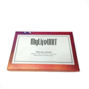 MyLifeUNIT 24 Sheets 230g Watercolour Postcard, 10cm by 15cm