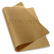 2 Packs Teflon Sheet 41cm x 50cm 5 Mils PTFE Heat Resistant Craft Sheet Heat Press Non-stick