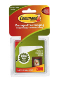 Command Picture Hanging Strips Value Pack, Small, White, 16-Strips