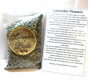 30ml Re-Sealable Bag of Lavender Buds- Perfect for DIY Products, Soap, etc