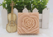 Creativemoldstore 1pcs Square Shaped Rose (zx128) Silicone Handmade Soap Mould Crafts DIY Mould