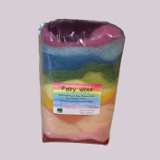 Certified Organic Bioland Plant Dyed Fairy Wool
