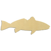 60cm Red Fish Unfinished DIY Wooden Craft Cutout to Sell Stacked