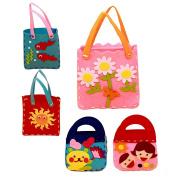 Zopho(TM) BS#S Handmade Handbags Non-woven Cloth Kids Crafts Cartoon Toys Creative Gifts Kids Toy