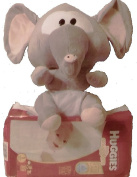 2 Pc Baby Shower Gift Set, Sz 1 Nappies and Elephant