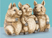 WWJ/ Ornaments home for creative crafts/three little pigs resin ornament crafts