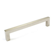 MEICHEN-Modern, handle nickel plated zinc alloy Brushed silver drawer handle