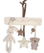 Top McKinley Baby Music Plush Activity Crib Stroller Soft Toys Rabbit Star Shape