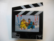 2 piece--Set Movie Clapboard 8.9cm x 13cm Picture Frame