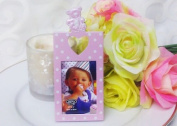 Baby Shower Polka Dots White and Pink Picture Frame