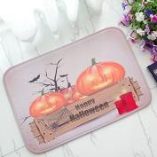 WDA Happy Halloween Doormats 40cm60cm Pumkin Mats Nursery Rugs