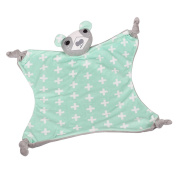 Kolamom Soothing Blankie Towel Doll 100% Super Soft Organic Cotton Baby Gift Sleep Soothers for Girl for Boy