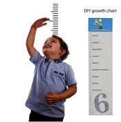 DIY Growth Chart (Blue)