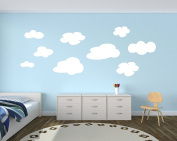 Pack of Cloud Wall Decals - Playroom Wall Decal - Nursery Wall Decals - Kids Room Decor