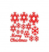 Snowfla Sticker, Buedvo Wall Window Stickers Angel Christmas Xmas Vinyl Art Decoration Decals