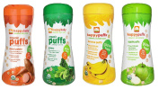 Happy Baby Organic Puffs Variety Pack