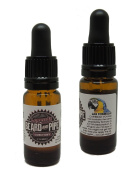 "LEGENDS BAY RUM Premium Beard Growth Oil and Conditioner - ""CARIBBEAN VOYAGE"""
