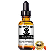 The Bearded Mafia Tommy Tea Tree Conditioning Beard Oil