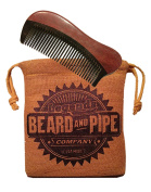 OX HORN BEARD COMB - SANDALWOOD AND ANTI STATIC OX HORN