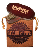 LEGENDS Signature Series 100% Boar Hair Beard Brush + Outback Sack