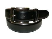 Bosca Single Stitch Dress Belt Black