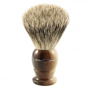 Edwin Jagger Best Badger Shaving Brush in Light Horn, Medium