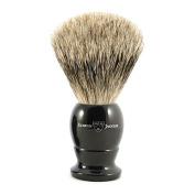 Edwin Jagger English shaving brush, best badger with ebony handle