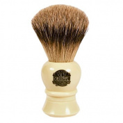 Vulfix 2233 Super Badger Shaving Brush, Faux Ivory Handle