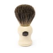Vulfix Pure Badger Shaving Brush, White Handle