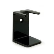 Shaving Brush Drip Stand, Medium Neck, Black
