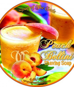 Shaving Soap of the Gods Peach Bellini 120ml