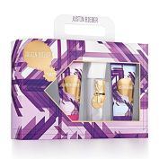 Justin Bieber By Justin Bieber For Women Eau De Parfum Spray 50ml (collector's Edition) & Body Lotion 100ml & Shower