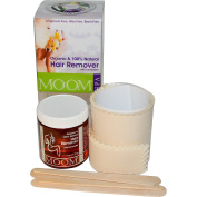 Moom, Organic Hair Remover Kit, With Lavender, Spa, 180ml (170 g) - 2pc