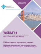 Wsdm 16 9th ACM International Conference on Web Search and Data Mining