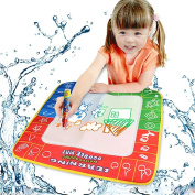 Kize Water Drawing Toys Mat & 1 Magic Pen/Water Drawing Board Baby Play